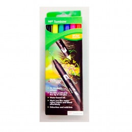 ROTULADORES TOMBOW 6 COLORES